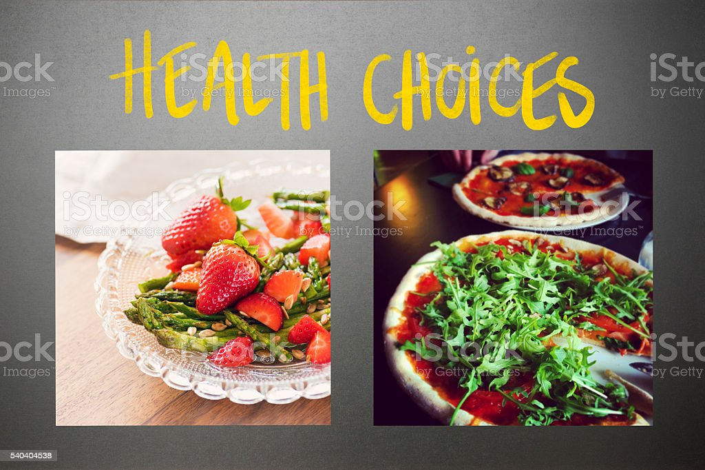Dieting – Food & Health Choices stock photo