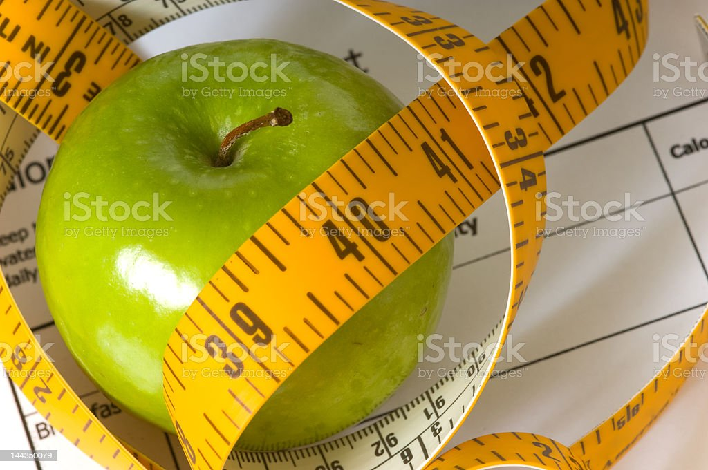 Dieting Items royalty-free stock photo