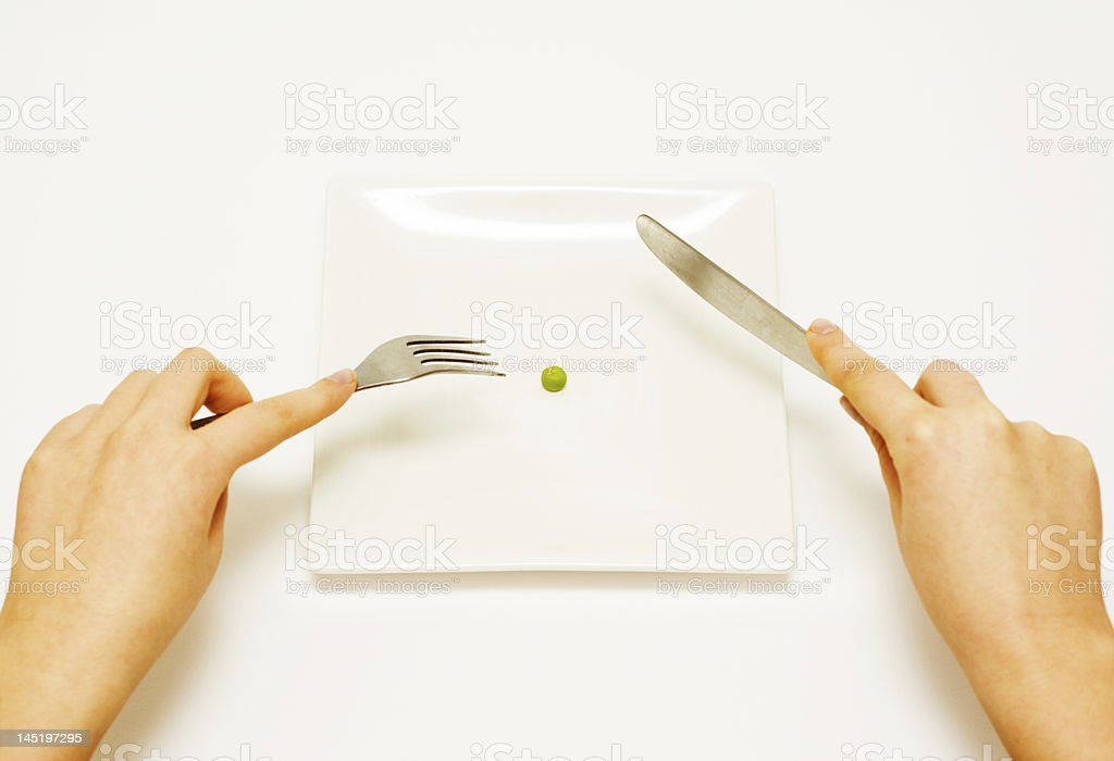 Dieting. royalty-free stock photo