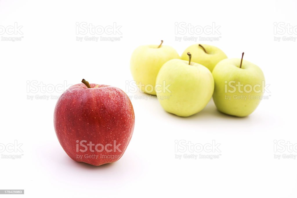 Different apple royalty-free stock photo
