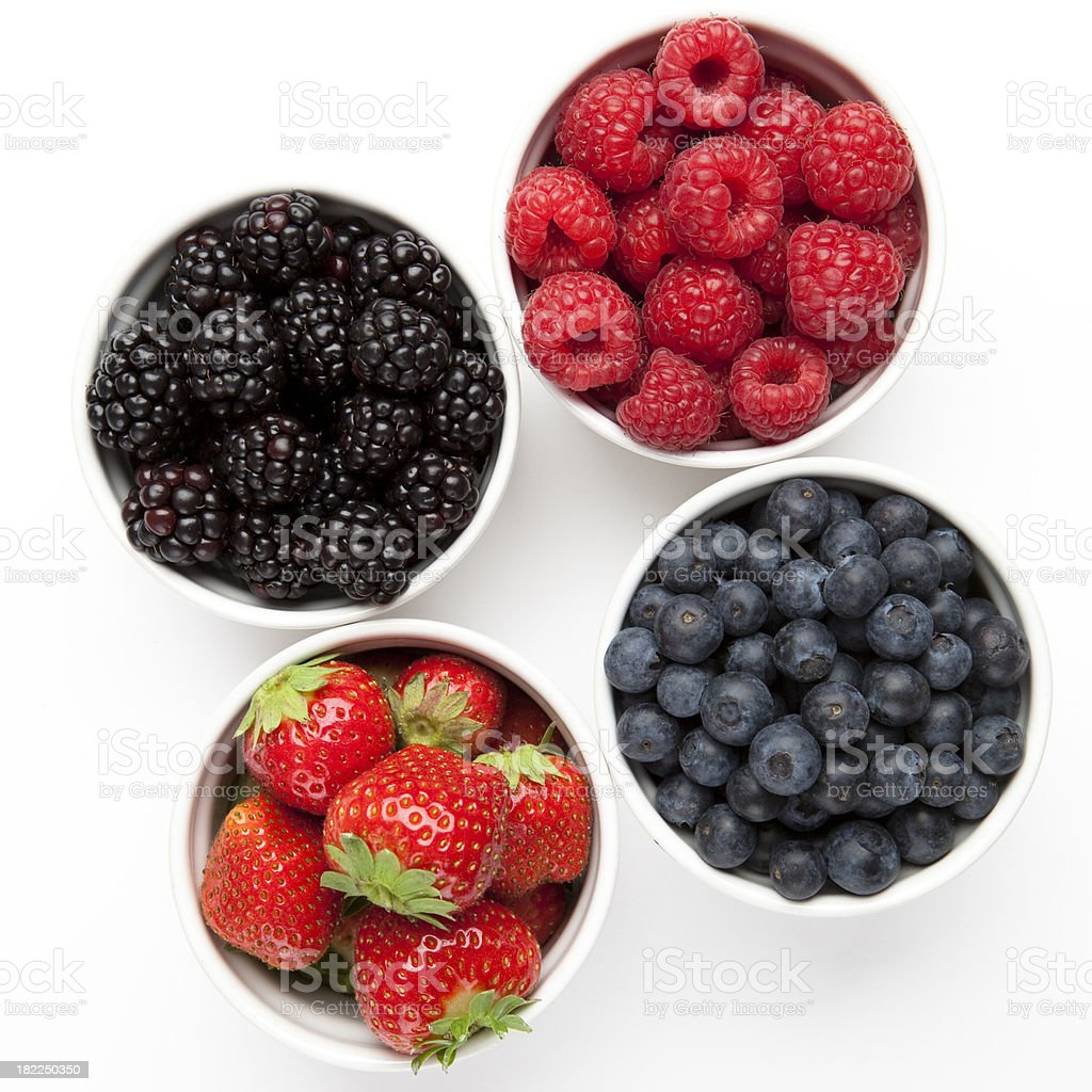 Different berries royalty-free stock photo