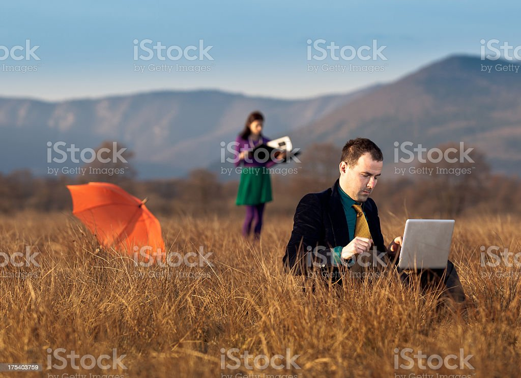 Different business royalty-free stock photo