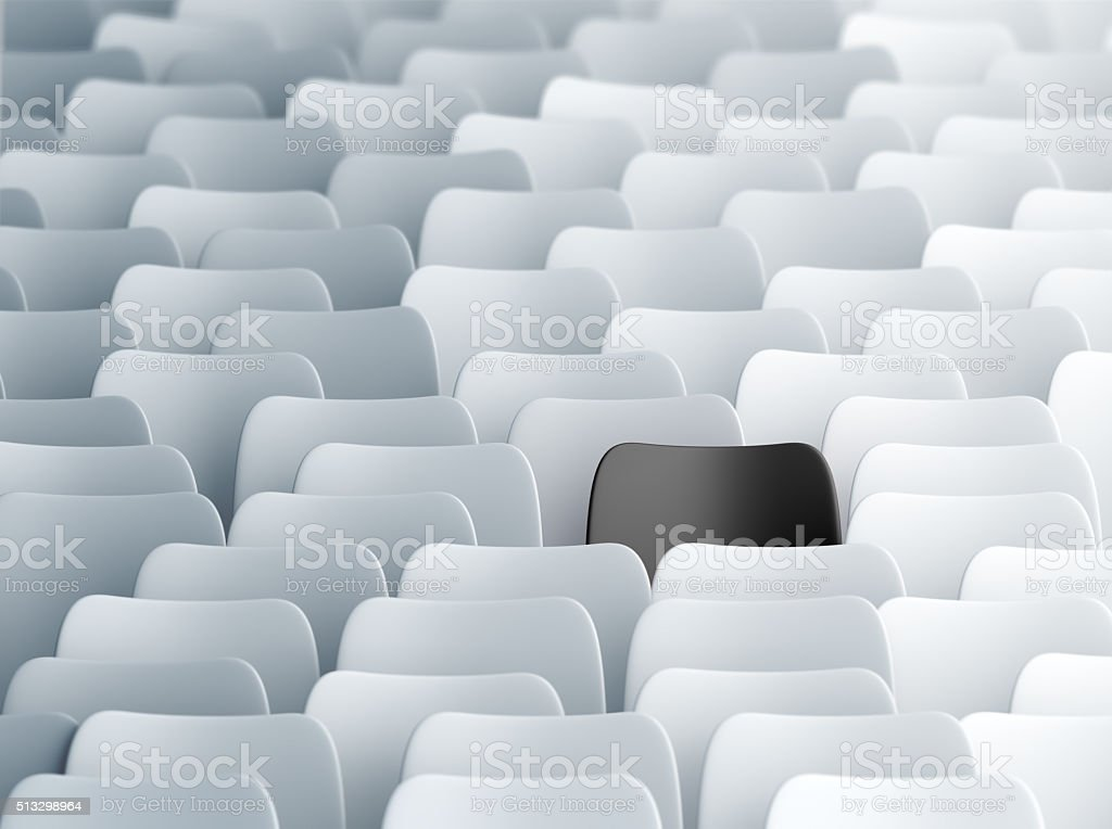 Different chair stock photo