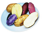 Different color potatoes