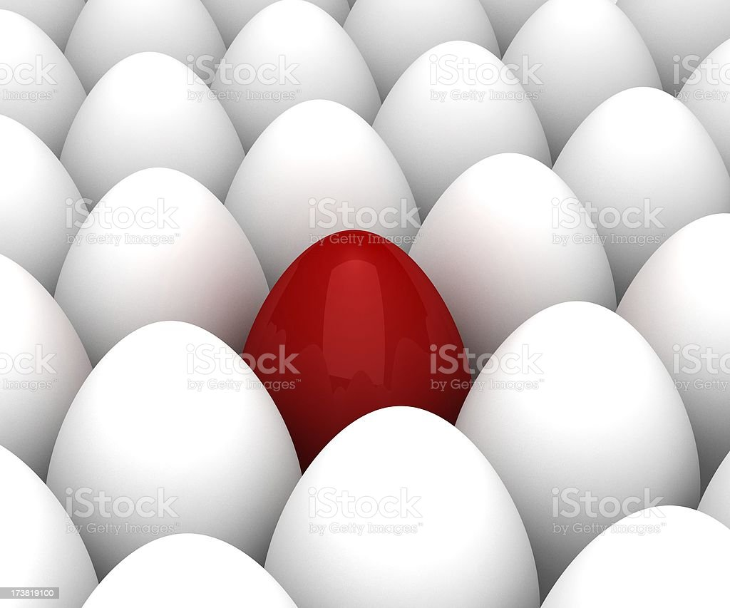 Different Egg stock photo