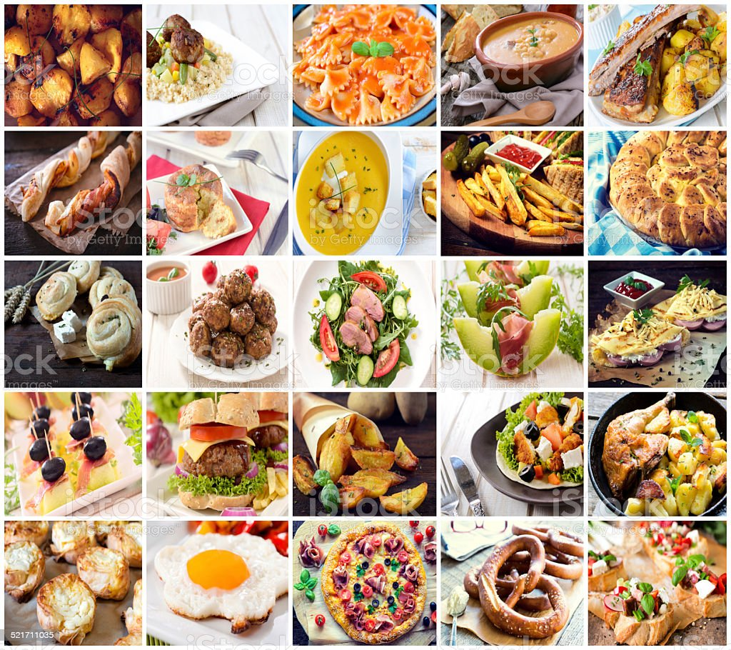 Different food stock photo