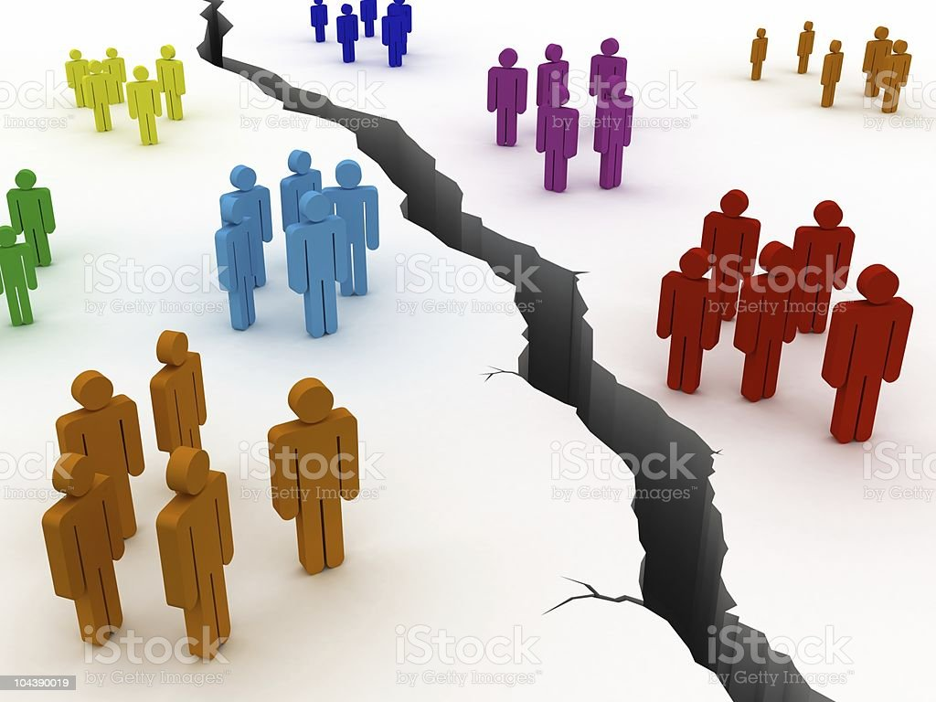 Different Groups royalty-free stock photo