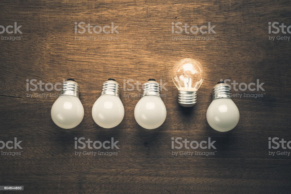 Different Idea stock photo