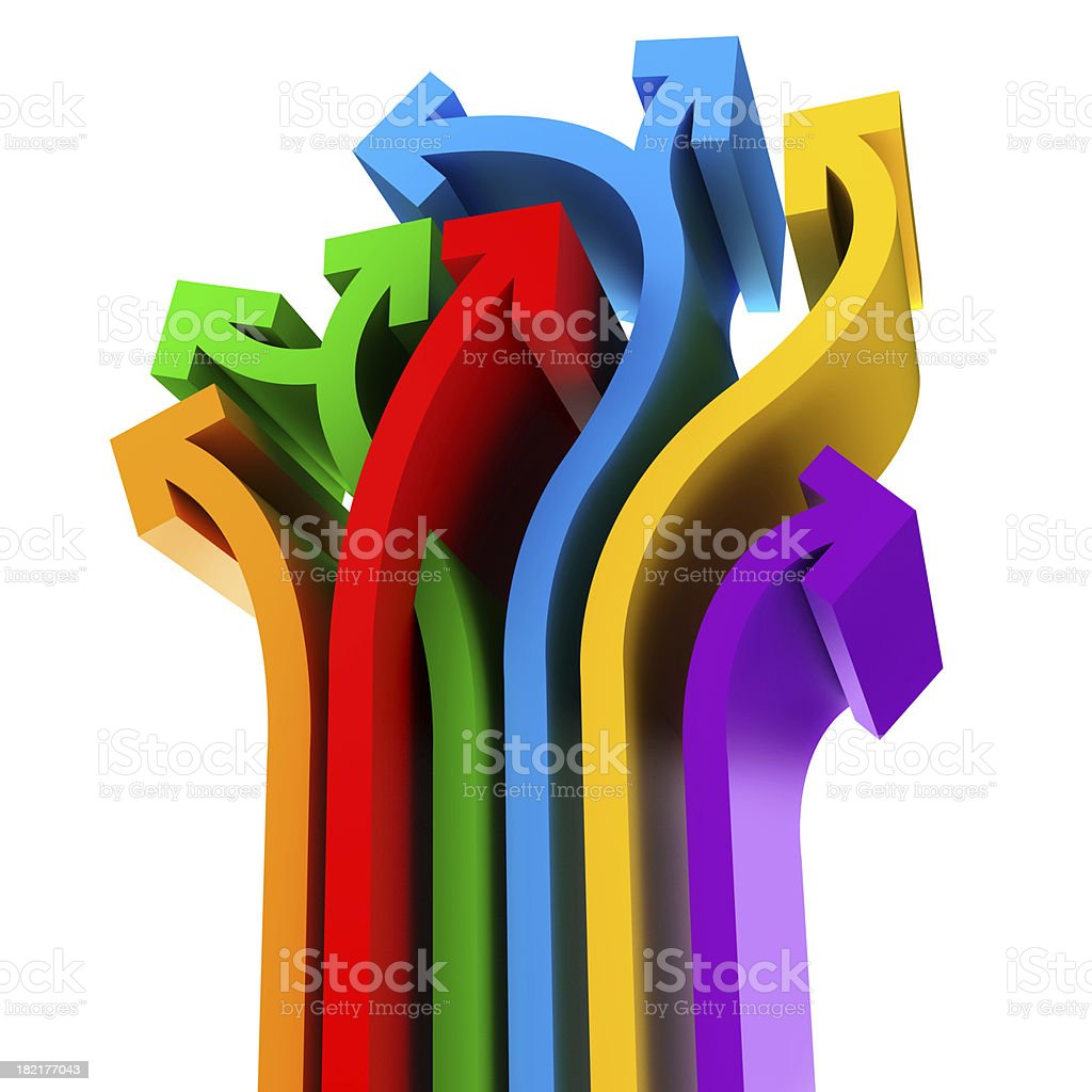 different ideas royalty-free stock photo