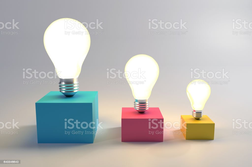 Different Innovations stock photo