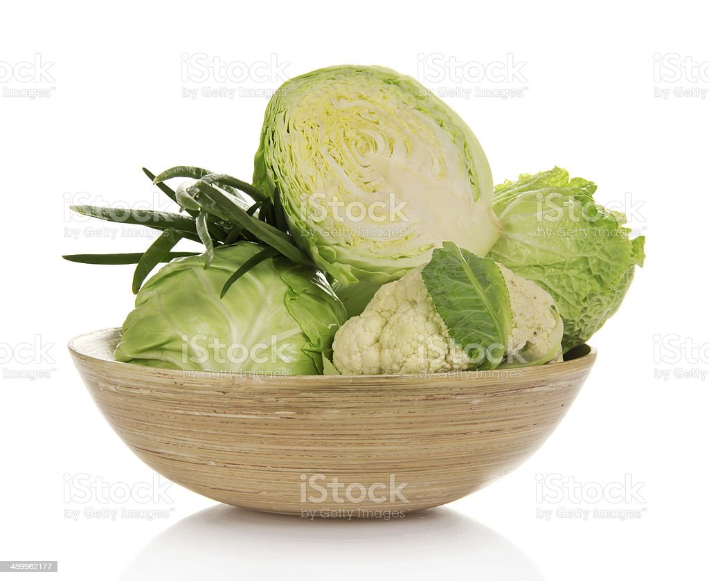 Different kind of cabbage stock photo