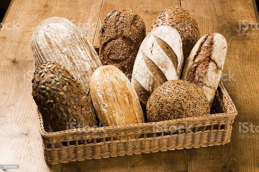 Различных видов хлеба Стоковые фото Стоковая фотография