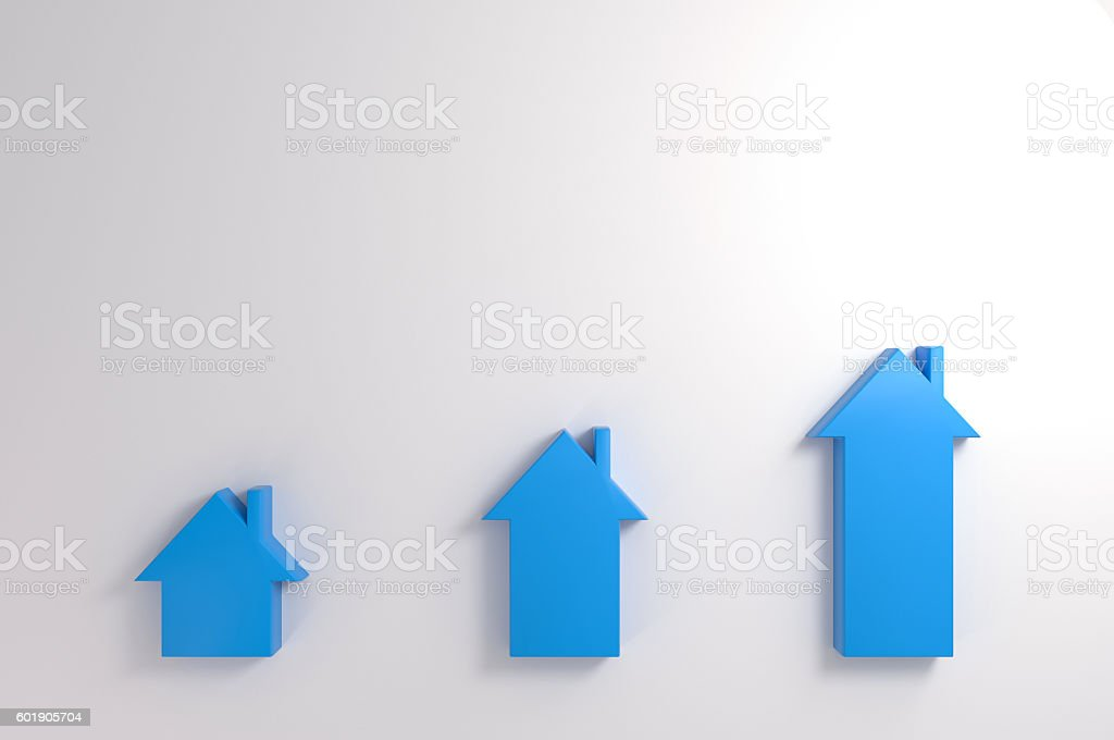 Different Levels of Housing stock photo