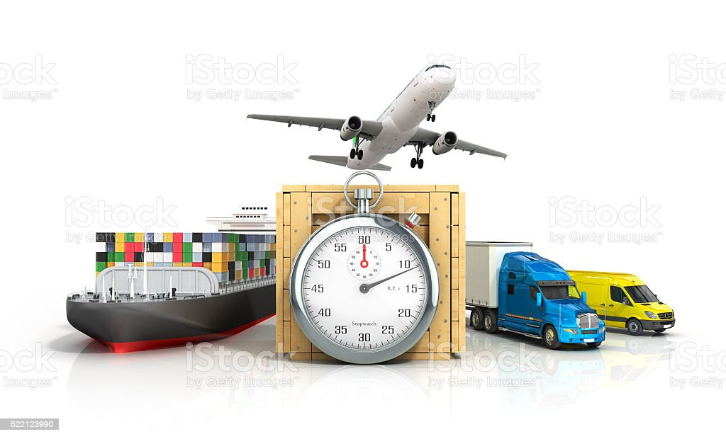different modes of transport stock photo