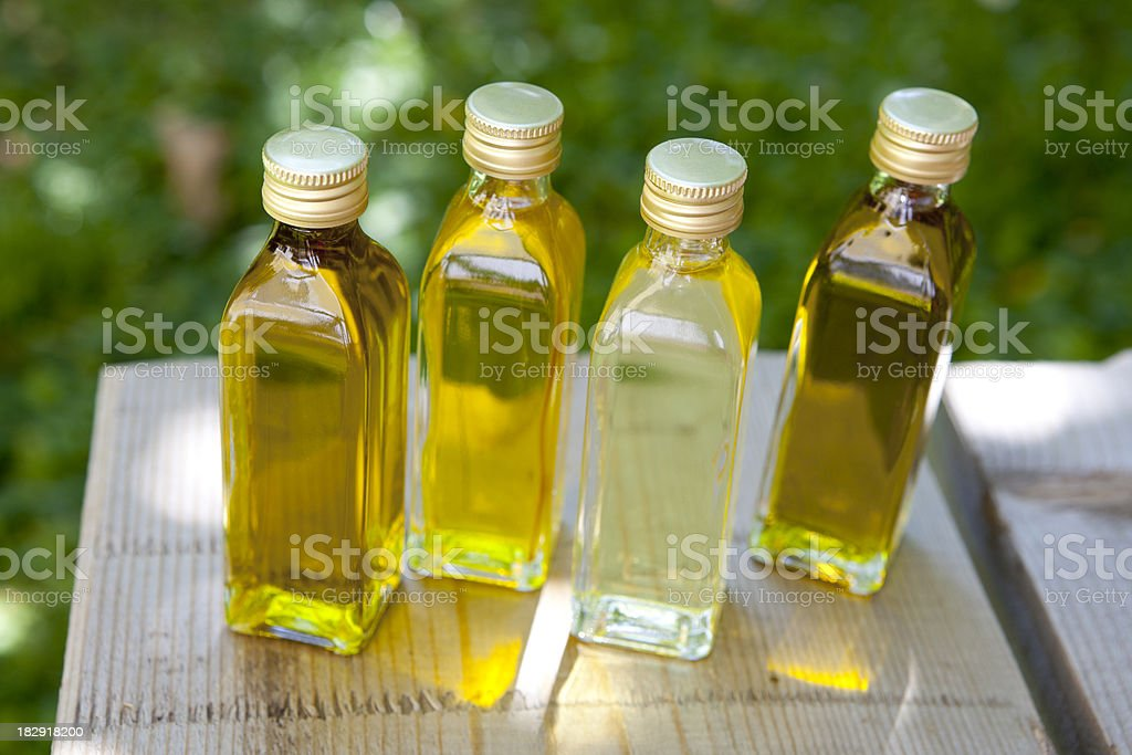 Different oils royalty-free stock photo