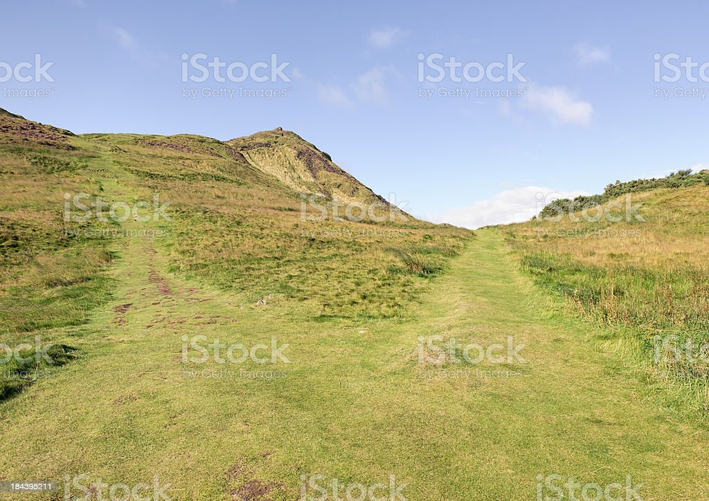 Different Paths royalty-free stock photo