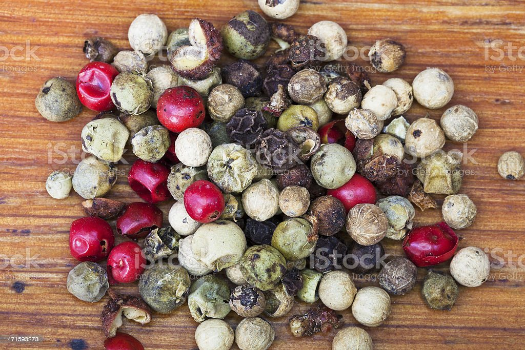 different peppers blend royalty-free stock photo