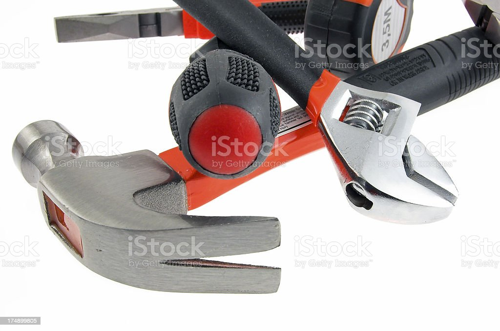 different repair tools royalty-free stock photo