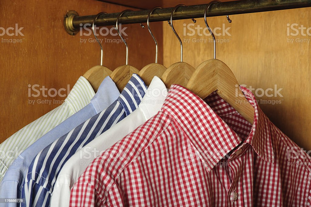 Different shirts style royalty-free stock photo