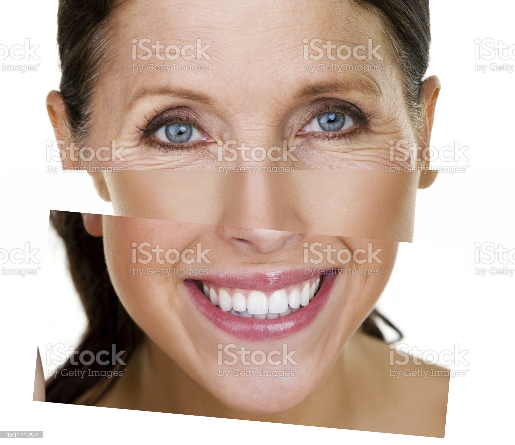 Different skin types royalty-free stock photo