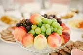 Different summer fruits on plate
