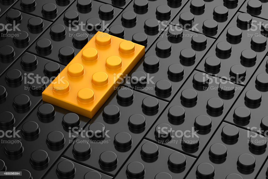 Different toys piece stock photo