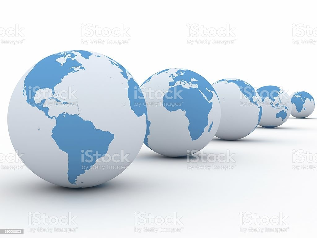 Different World royalty-free stock photo
