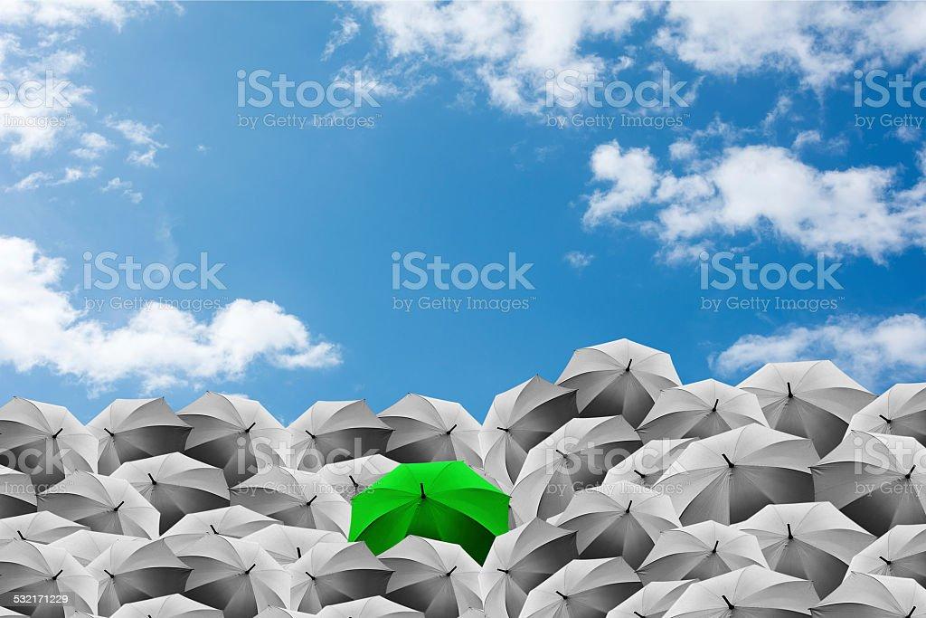 differrent businessman concept stock photo