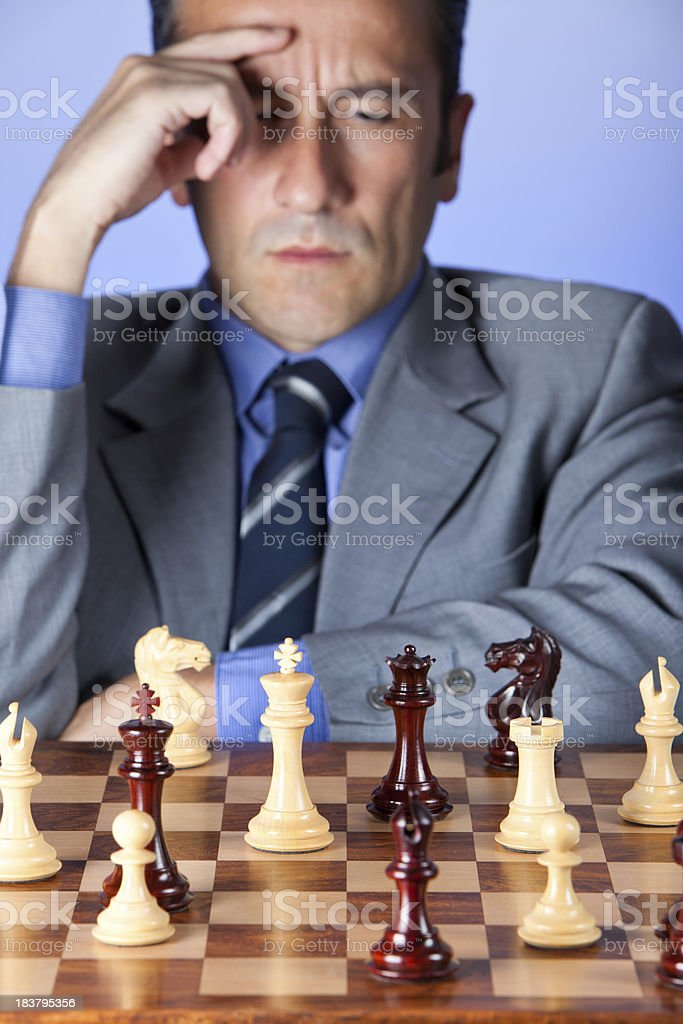 Difficult decision royalty-free stock photo