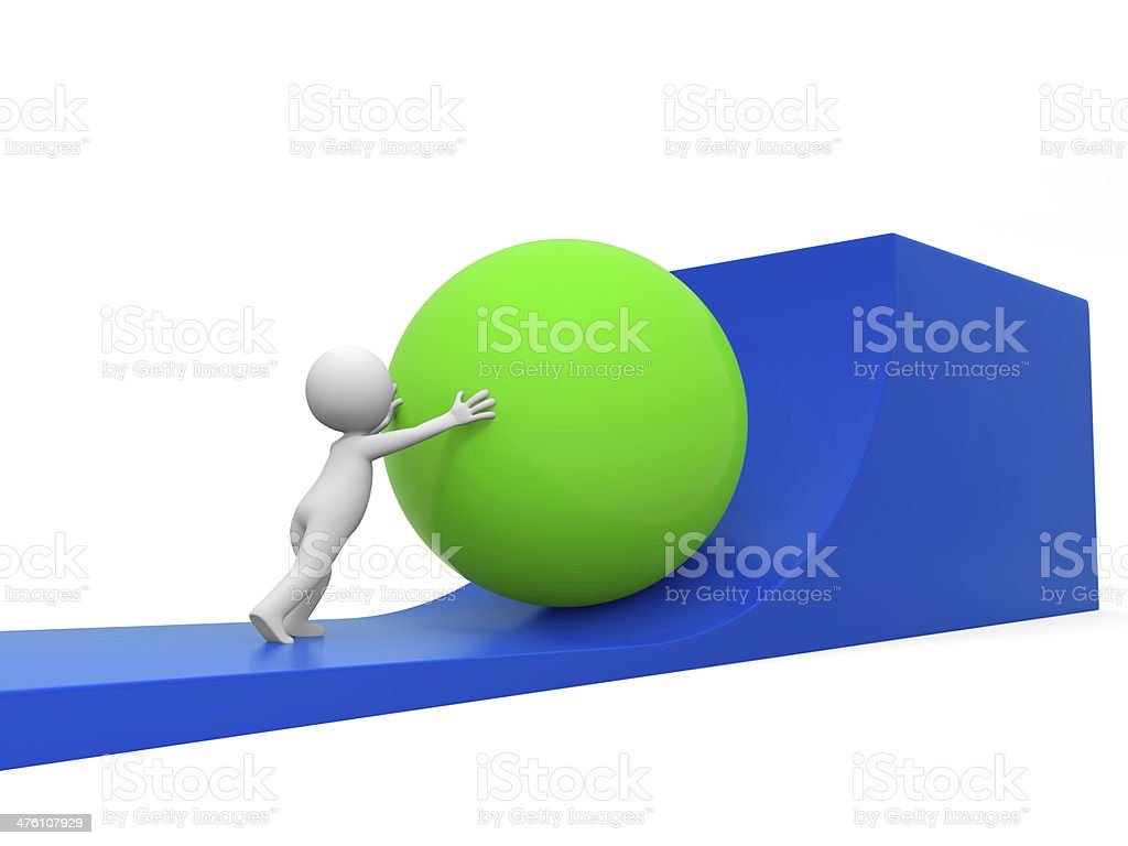 Difficulties,impossible stock photo