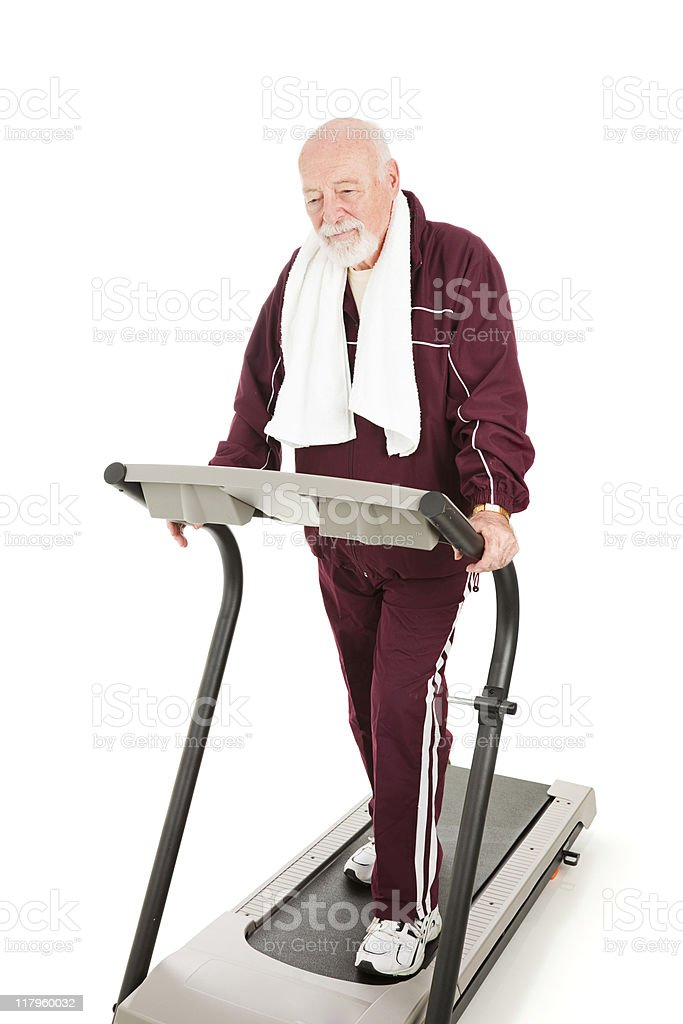 Difficulty Getting in Shape royalty-free stock photo
