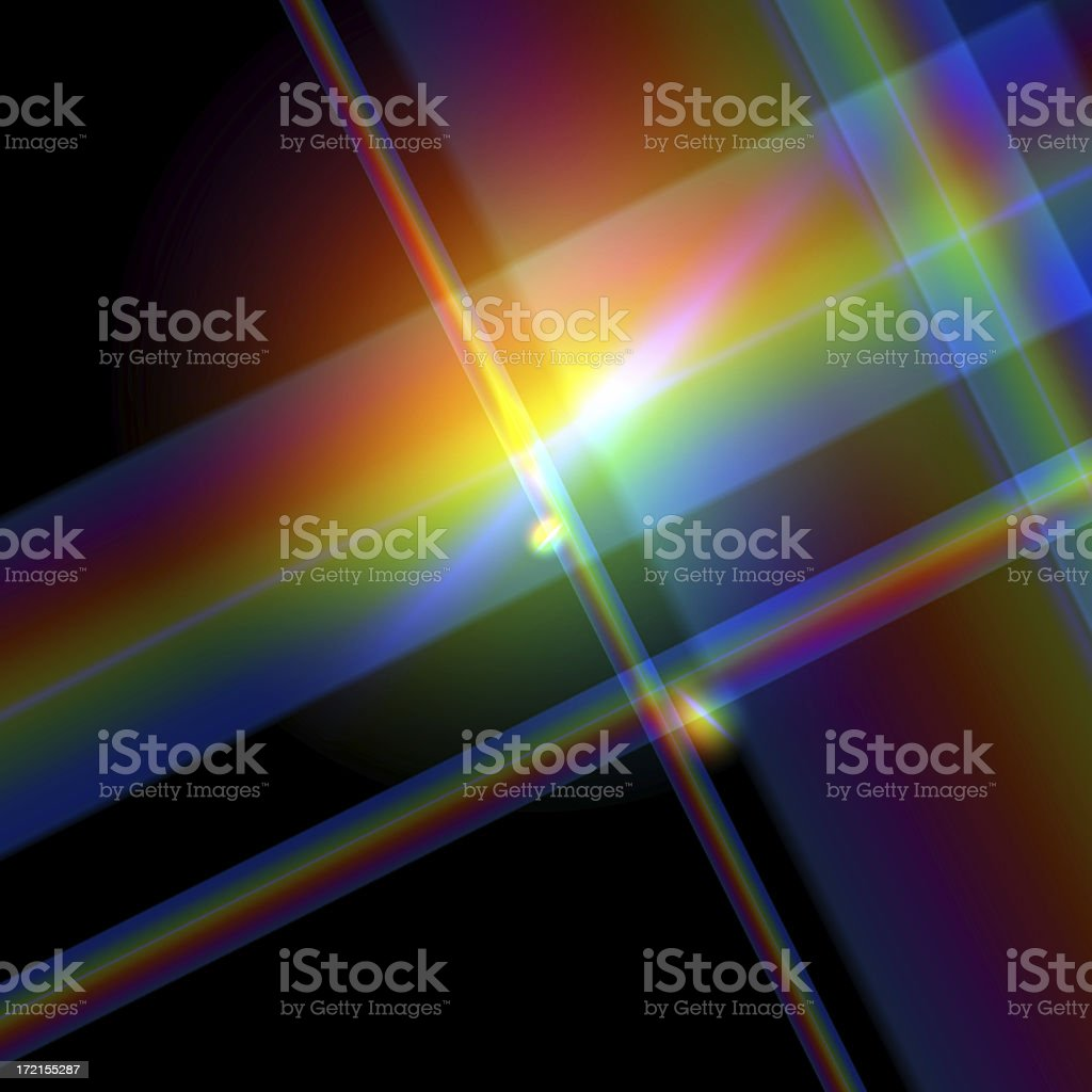 Diffraction stock photo