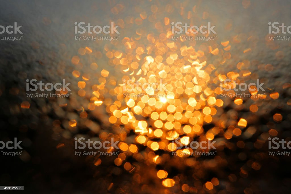 Diffused morning lights stock photo