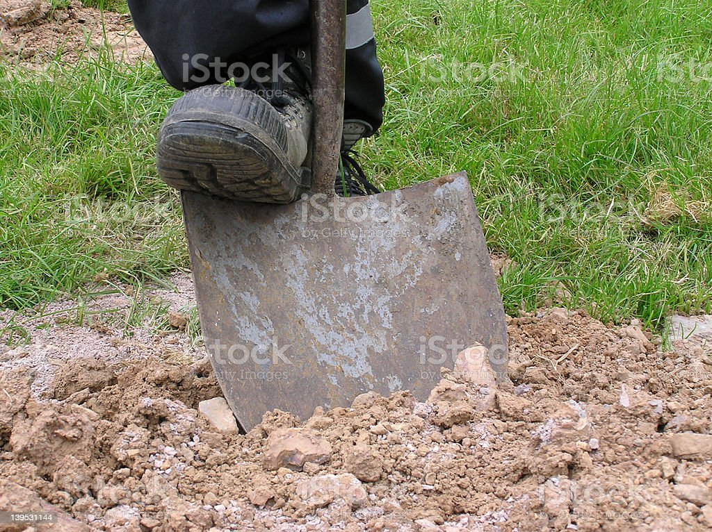 Dig 1 stock photo