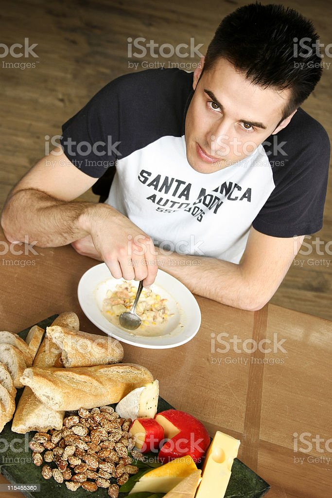 Dig In royalty-free stock photo
