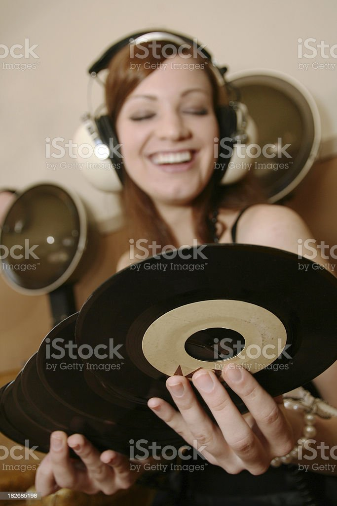 I dig this vinyl royalty-free stock photo