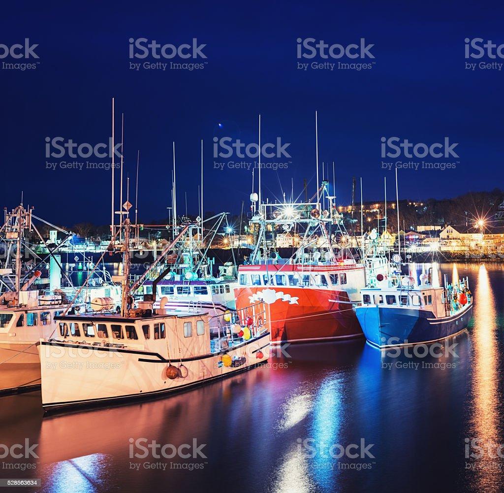 Digby Wharf stock photo