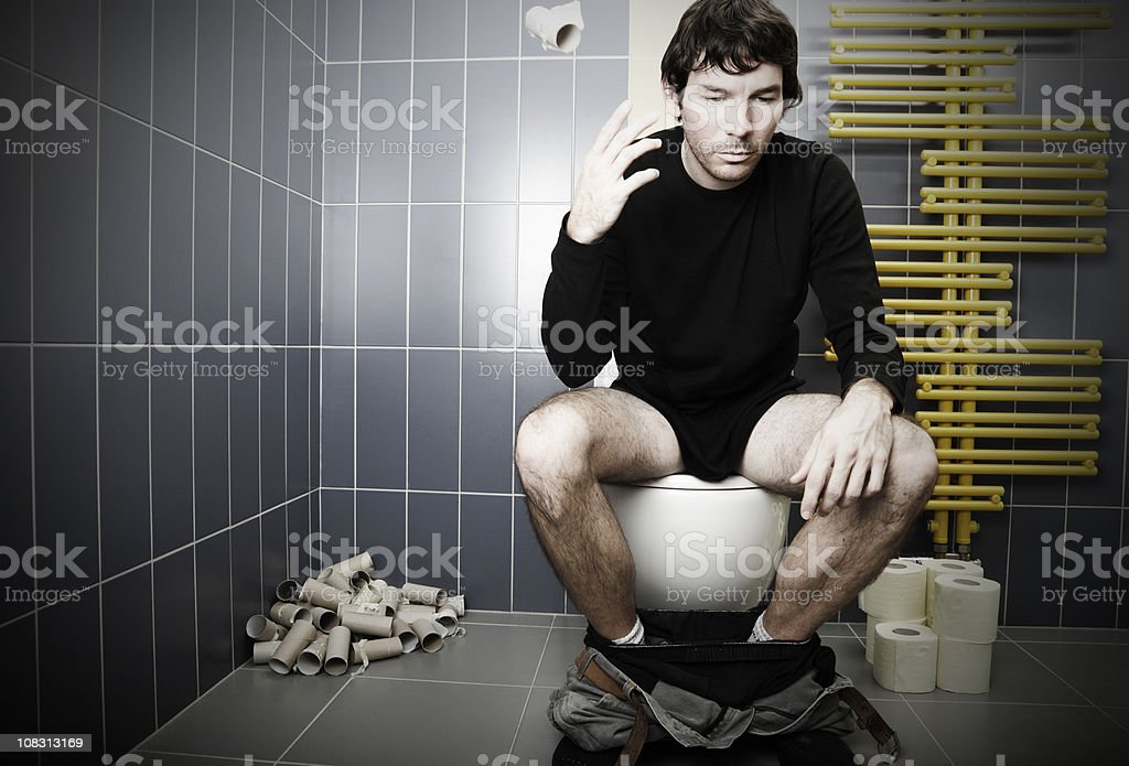 Digestion problems stock photo