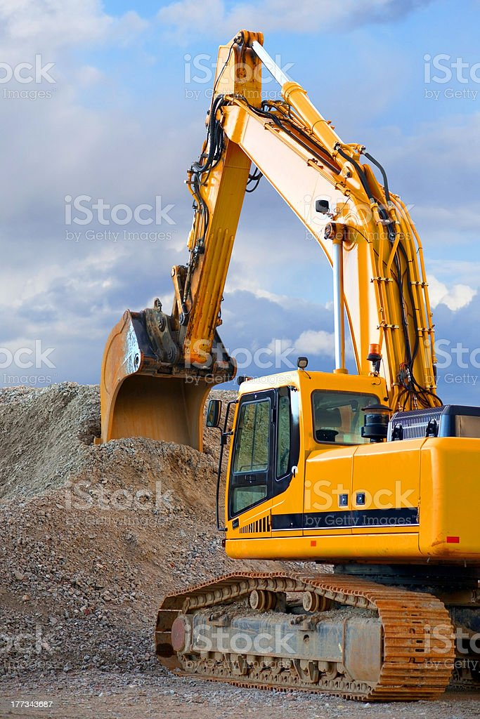 Digger stock photo