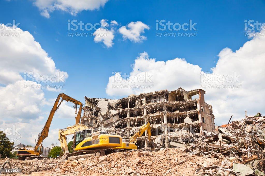 Digger royalty-free stock photo