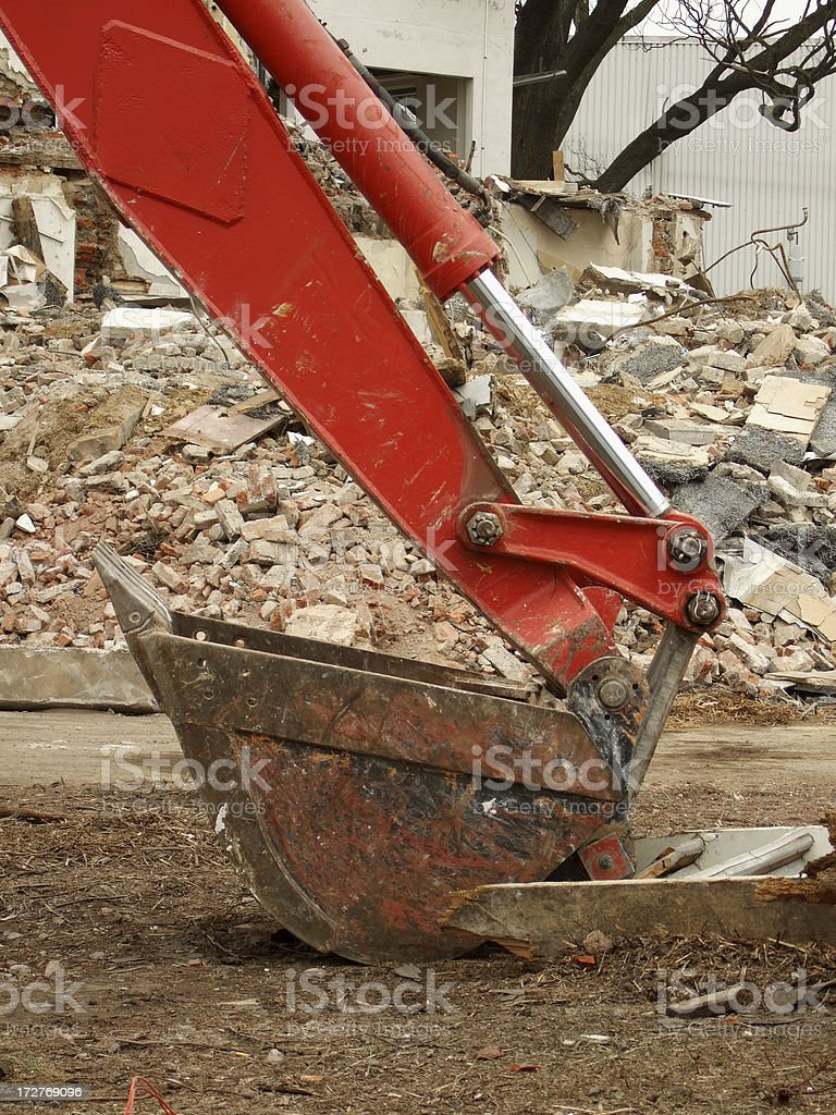 digger scoop royalty-free stock photo