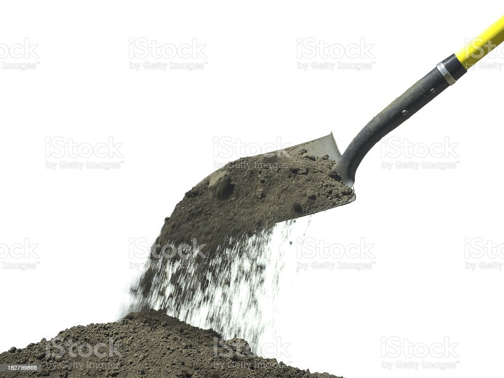 Digging stock photo