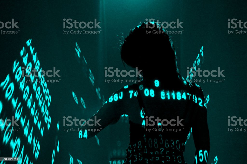 digiatal life stock photo
