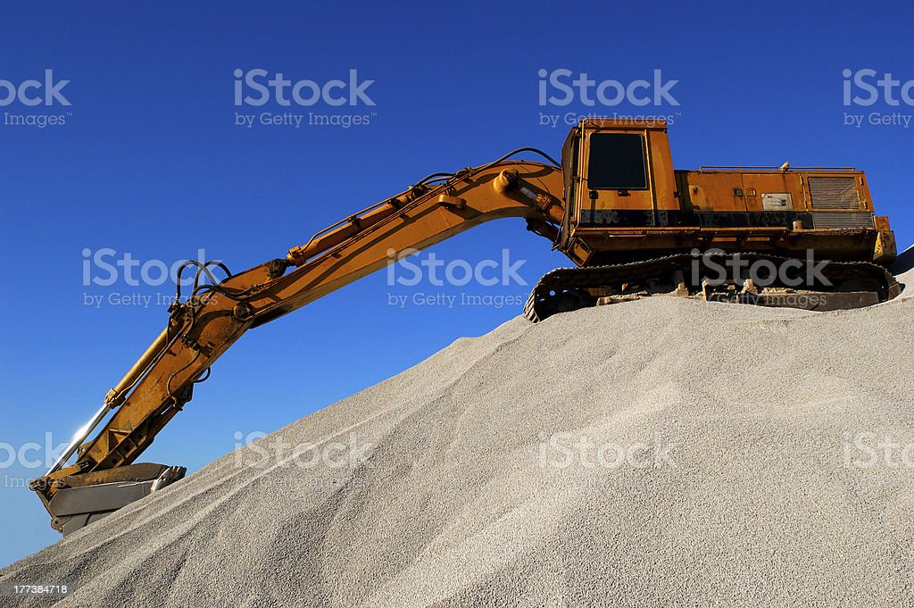 Dig-In stock photo