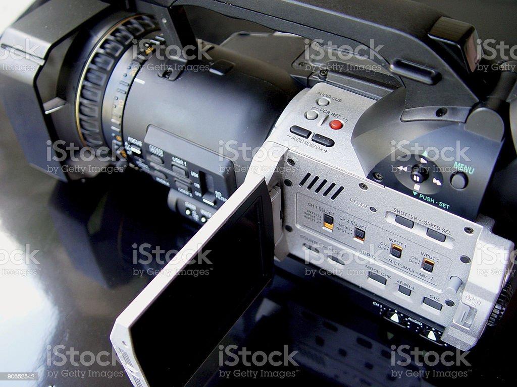 Digital 24P camcorder stock photo
