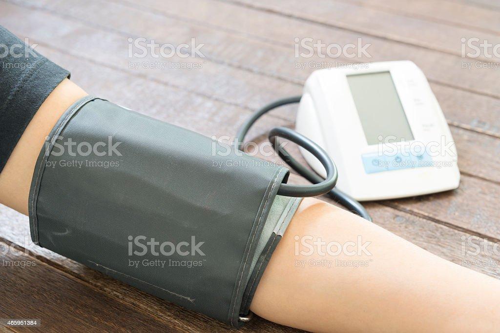 Digital Blood Pressure stock photo