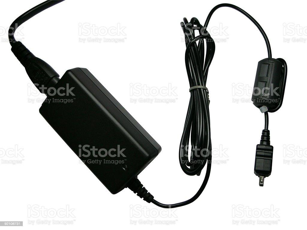 Digital camera adapter royalty-free stock photo