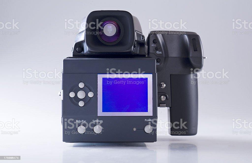 digital camera back stock photo
