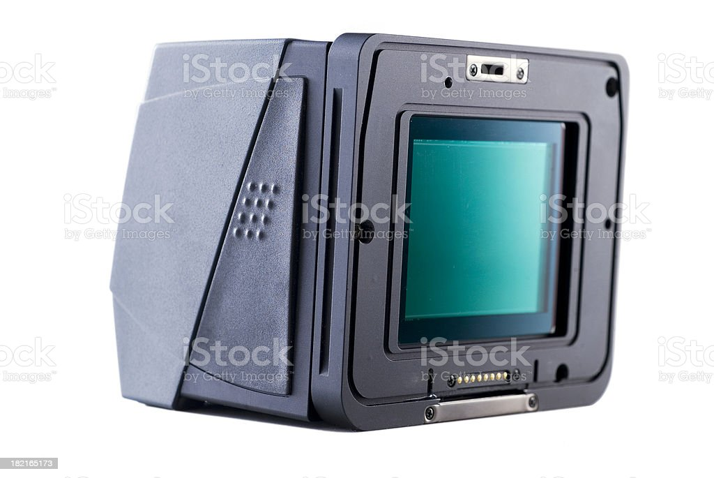 digital camera back royalty-free stock photo