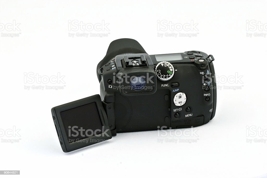 Digital Camera LCD extended royalty-free stock photo